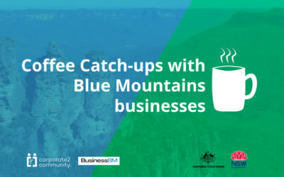 Sharing stories and connecting with business owners over a virtual coffee